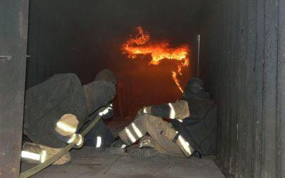 Brandbekämpfungstraining bei der Firma ERHA-TEC 27.05.2016