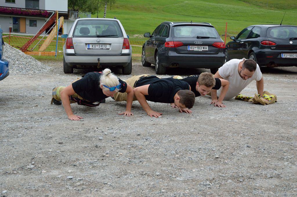 Am Training und der Motivation lag es sicherlich nicht