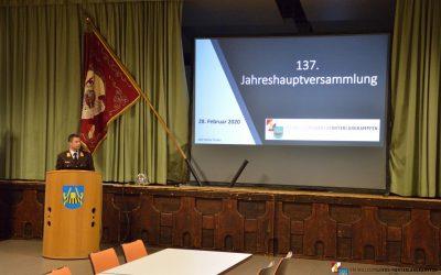 137. Jahreshauptversammlung 28.02.2020