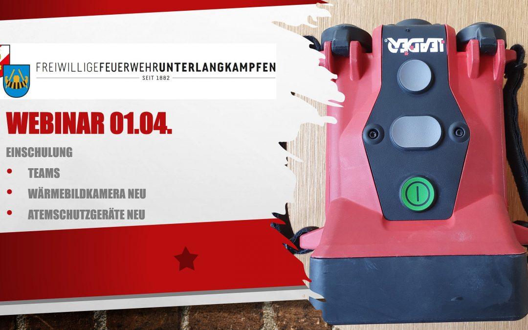Webinar Wärmebildkamera und Atemschutzgeräte 01.04.2021
