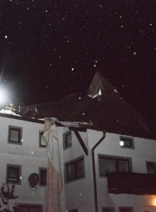 Dach wurde abgedeckt Ulka